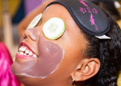 Máscara de Chocolate e Frutas