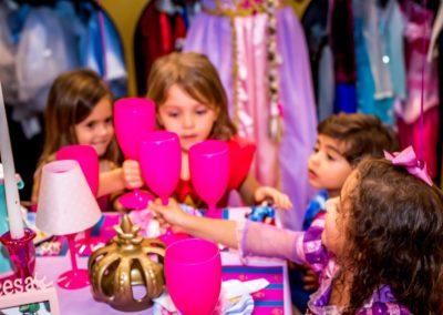 Chá com as Princesas
