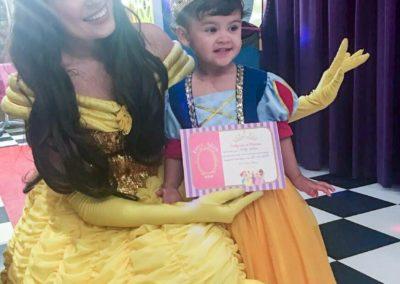 Dia da Princesa Vicky Falconi.