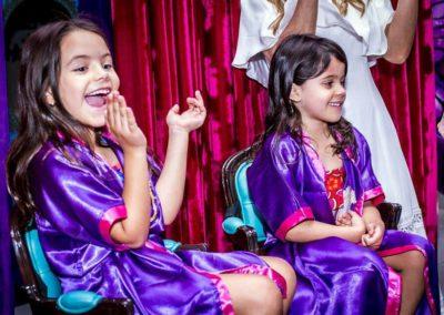 Festa Aladin e Jamine Rafaella e Mariana